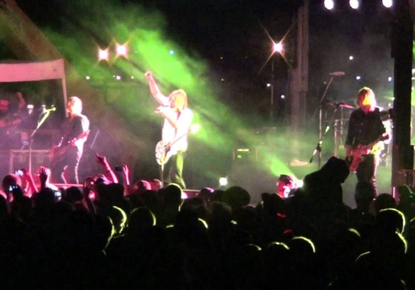 Switchfoot outdoor concert